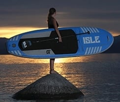 ISLE Airtech 10 Inflatable Stand Up Paddle Board