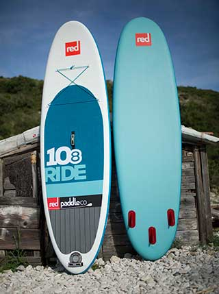 """Red Paddle 10'8"""" Ride 2016"""