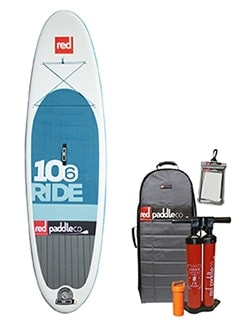"""Red Paddle Co 10'6"""" Ride Bundle"""