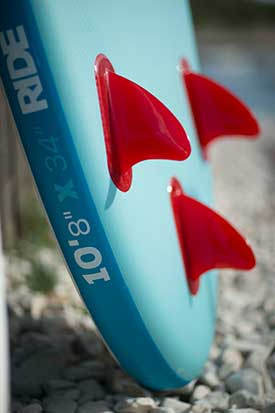 "Red Paddle Co 10'8"" Ride Fins"