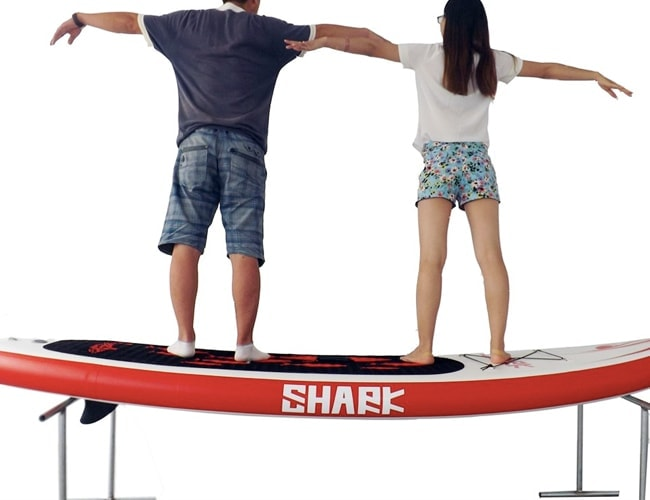 "Shark SUPs White Shark 10'6"" Cruising iSUP"