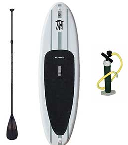 Tower Adventurer Inflatable SUP Bundle