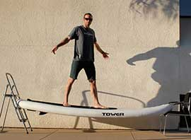 Tower Adventurer Paddle Board Durability