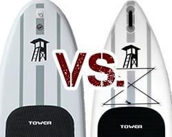 Tower Adventurer vs. Adventurer 2