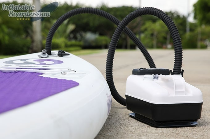 Scoprega Bravo GE 2 Pump Inflating iSUP