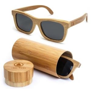 Tree Tribe Polarized Bamboo Floating Sunglasses