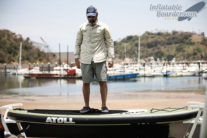 Atoll 11' SUP Rigidity