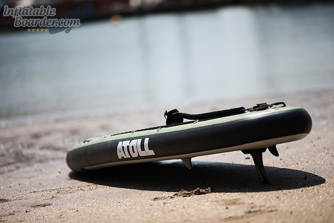 Atoll Inflatable SUP on Beach