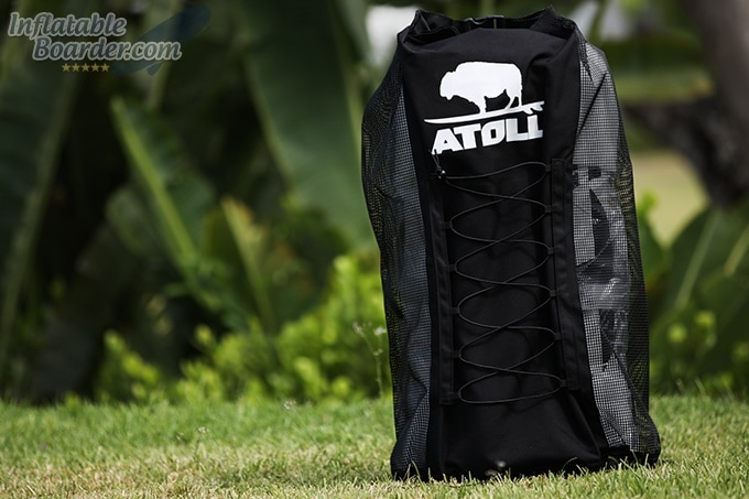 Atoll Travel Backpack Front