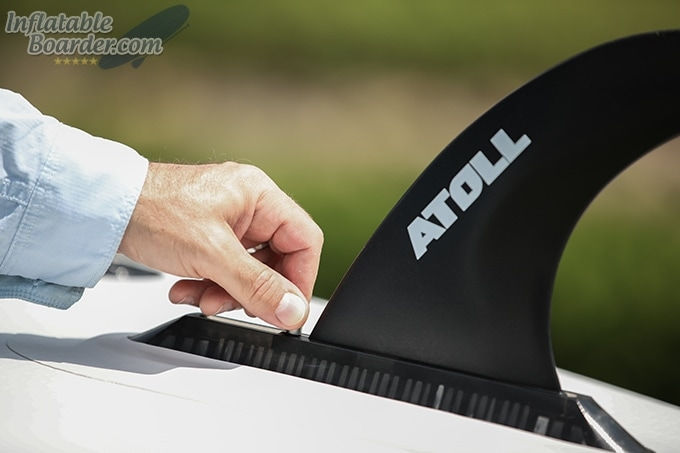 Installing Atoll SUP Fin