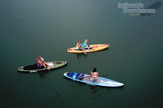 Ruffwear Float Coat on Paddle Board