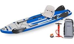 Sea Eagle LongBoard 11 Swivel Seat Fishing Rig