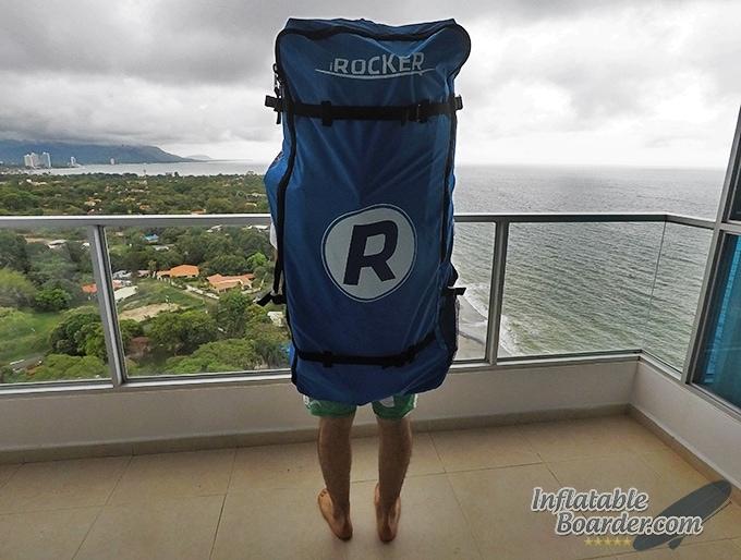 iRocker Backpack Rear