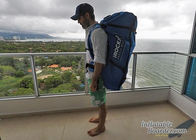 iRocker Backpack Side