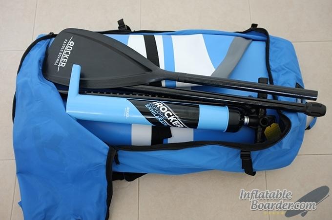 iRocker Backpack Open