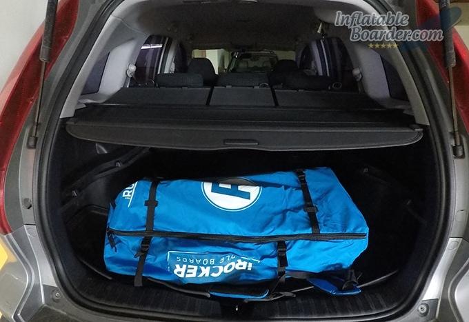 iRocker Backpack in Trunk
