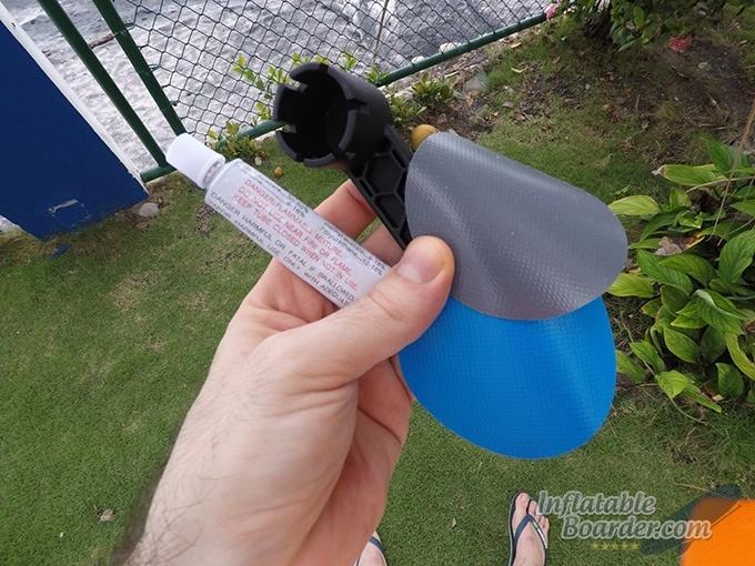iRocker SUP Repair Kit Contents