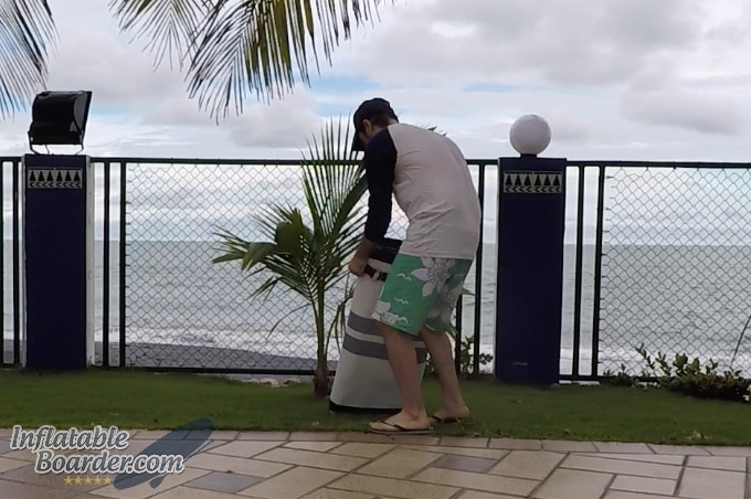 Packing iRocker SUP