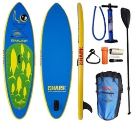 "Shark SUPs 9'2"" SMURF Kids Paddle Board"