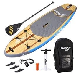 "THURSO SURF 7'6"" Prodigy Child Paddle Board"