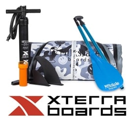 XTERRA Milkshake 8' Inflatable SUP