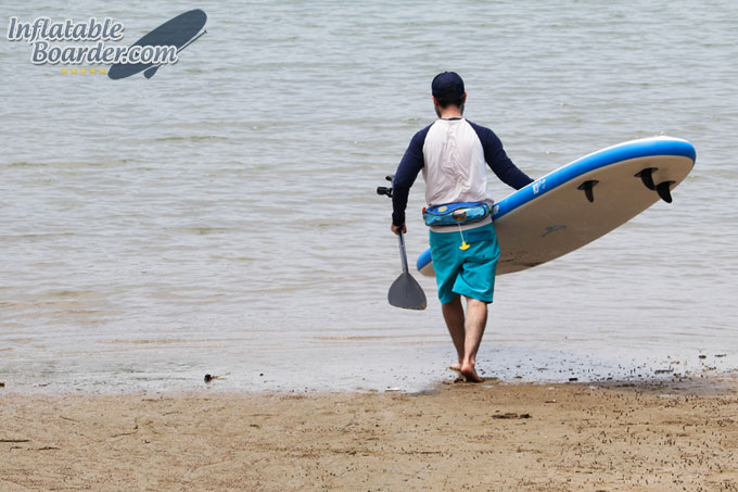 10-7 SKYLAKE Inflatable Paddle Board