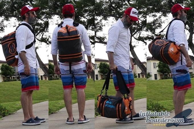 Aquapac Upano Duffel Bag Fit