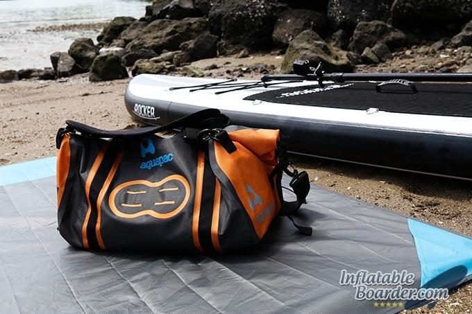 Aquapac Upano Duffel at Beach