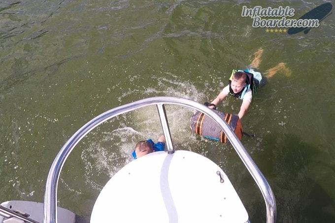 Aquapac Upano Waterproof Test