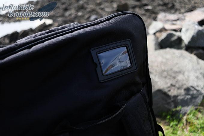 Earth River SUP Backpack Luggage ID Window