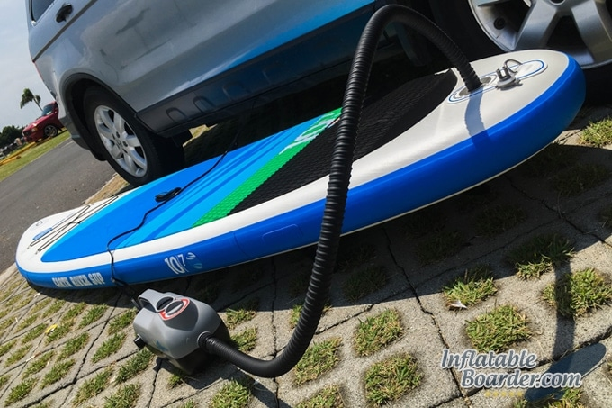 Earth River SUP Electric Pump
