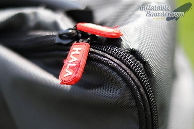 Hala Backpack Zippers