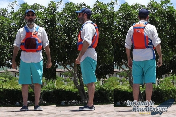 MTI Vibe SUP Life Jacket Fit