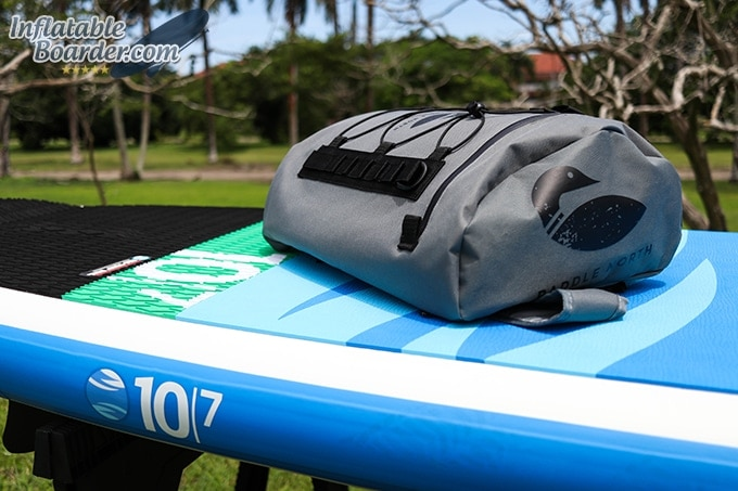 Paddle North SUP Deck Bag Top