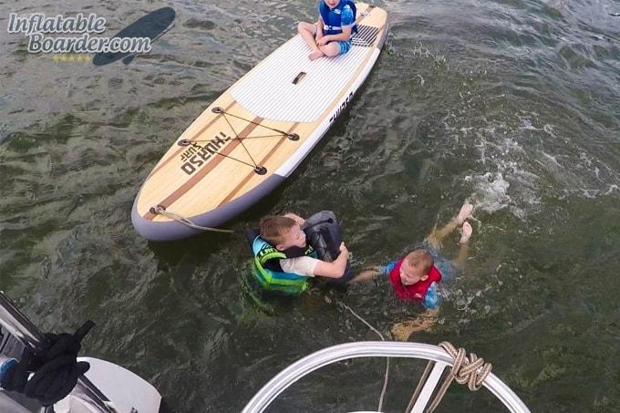 Paddle North Waterproof Deck Bag Test