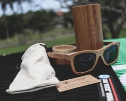 Tree Tribe Bamboo Wayfarer Sunglasses