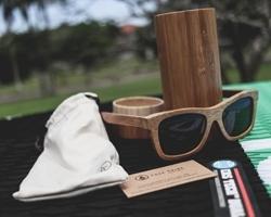 Tree Tribe Bamboo Wayfarer Sunglasses