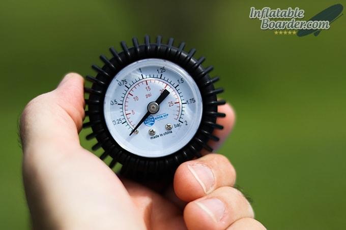 Earth River SUP Pressure Gauge Dial