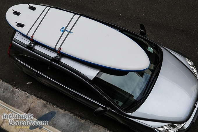 Earth River SUP Roof Rack Straps