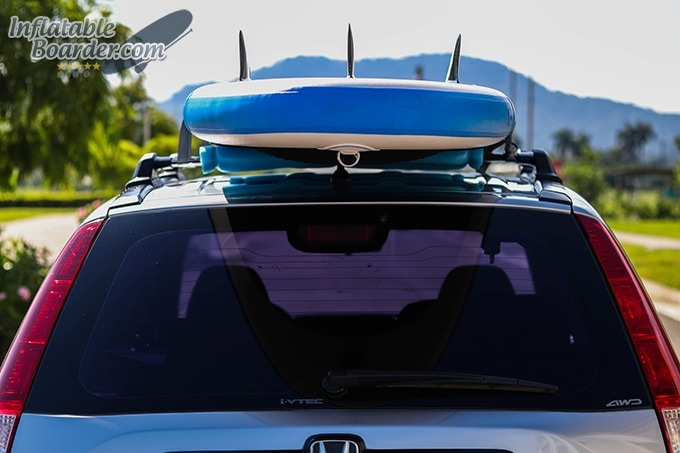 Earth River SUP Roof Straps Back