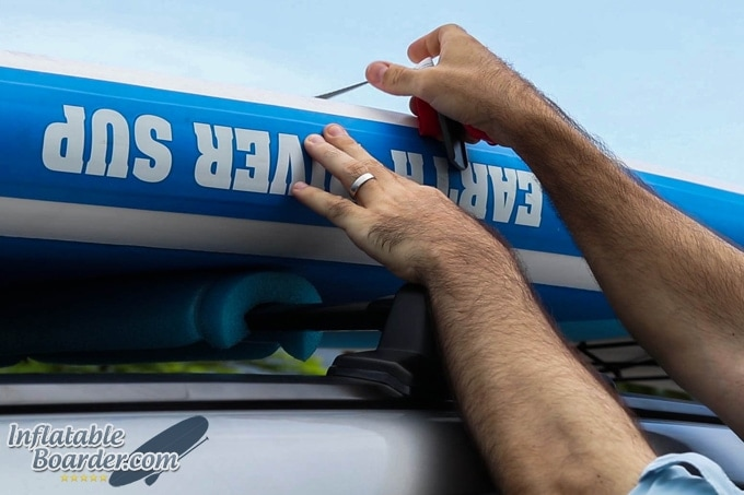 Earth River SUP Tie Down Strap Instructions