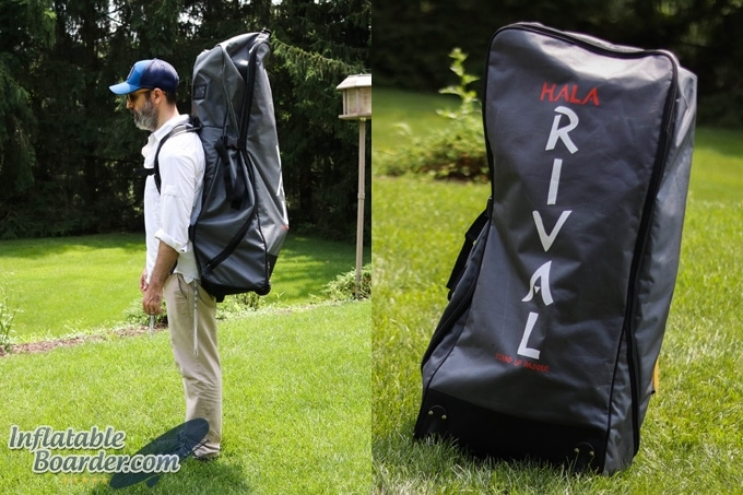 Hala Travel-Tough Rolling Backpack