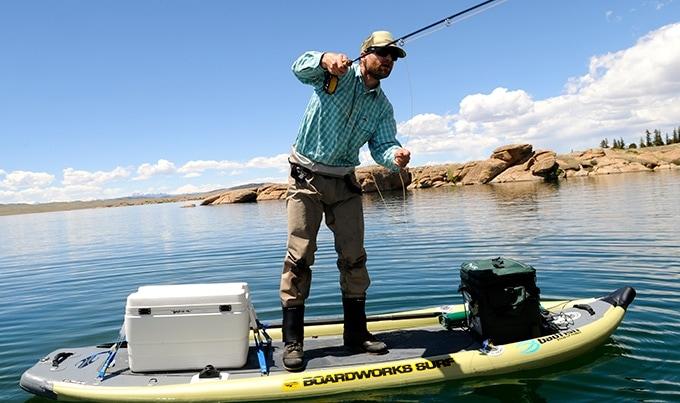 Mike Harvey Fishing SUP