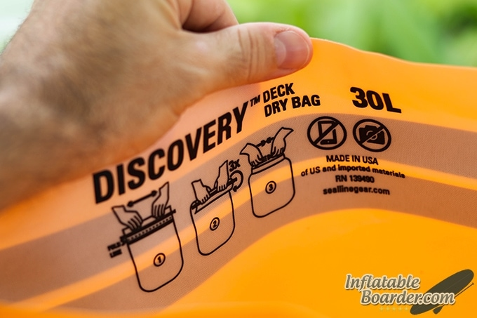 SealLine Discovery Bag Instructions
