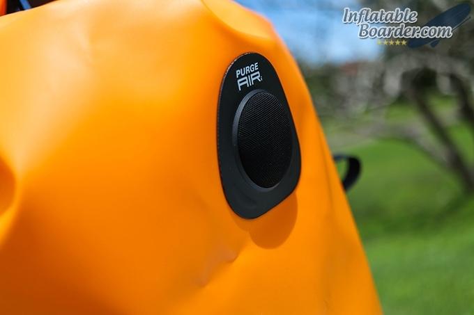 SealLine Discovery Deck Dry Bag Purge Air Valve