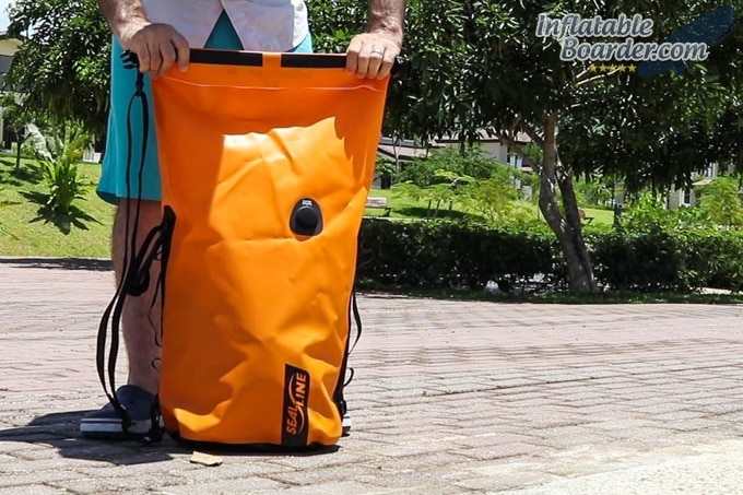 SealLine Discovery Deck Dry Bag Roll Top