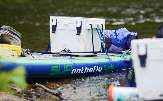 SUP onthefly Fishing