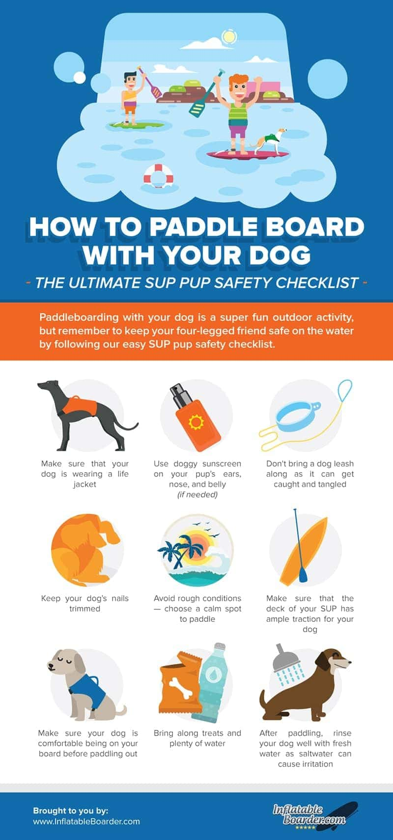 SUP Pup Safety Checklist
