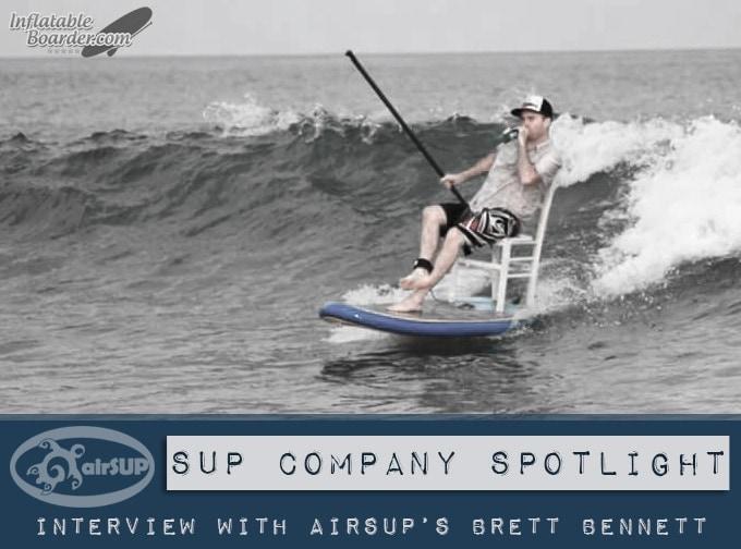 airSUP Brett Bennett