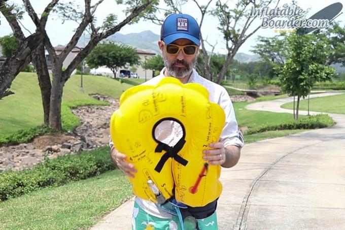 MTI Adventurewear Fluid 2.0 PFD Inflated